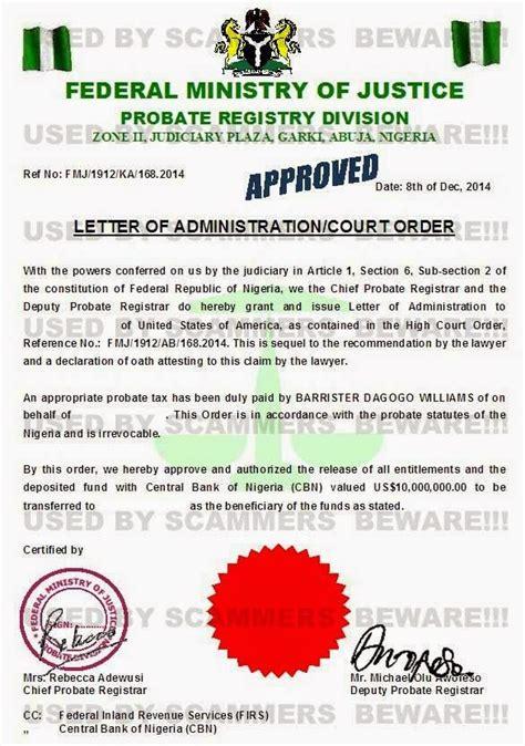 fraud fyi fake deposit certificate affidavit claim