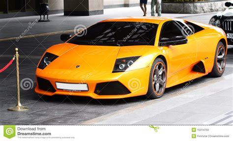orange sports cars lamborgini sports orange car editorial image image 15314750