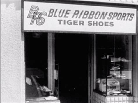 blue ribbon sports shoes history of nike facts about its 50th anniversary