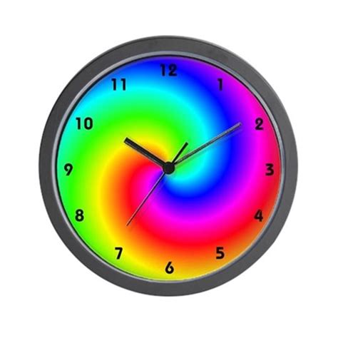 cool clock cool clocks wall clock by cosmeticplastic