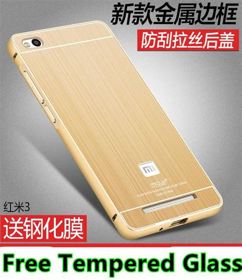 Bumper Iphone Style Xiaomi Redmi 3 3s Back Metal Cover Shell xiaomi redmi 3 3s pro metal bumper cas end 11 21 2016 10 07 00 pm