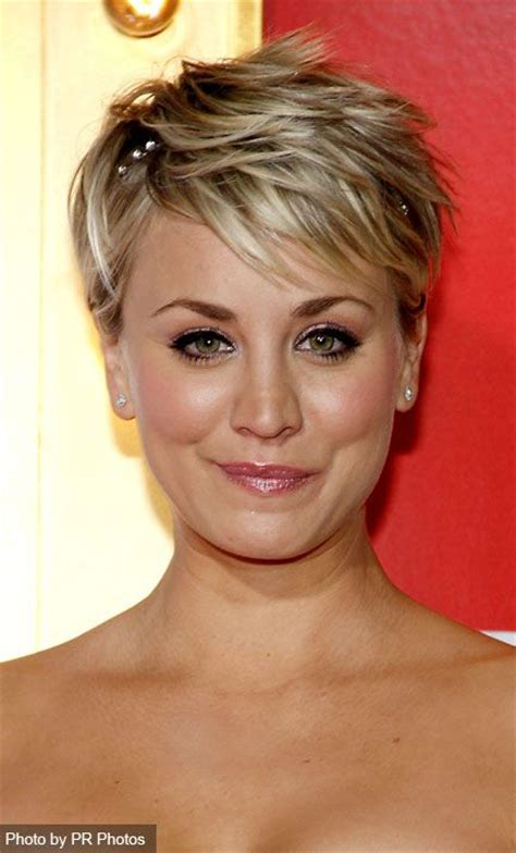 short hair kaley cuoco sweeting hair and makeup