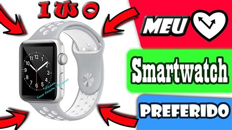 Smartwatch Iwo 3 meu smartwatch preferido iwo 3 42mm prata detalhes unboxing review pt br