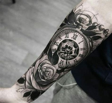 tattoo owl vyznam 21 gorgeous clock tattoo ideas for men styleoholic