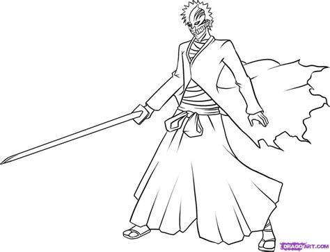 bleach color pages az coloring pages
