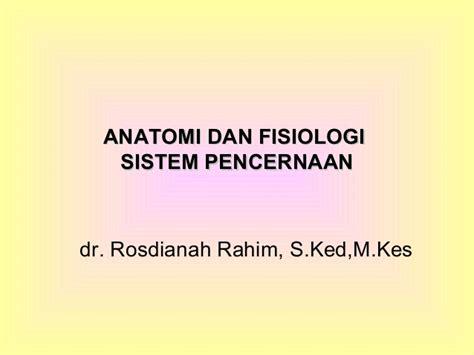 Files Fisiologi anatomi dan fisiologi sistem pencernaan pdf free