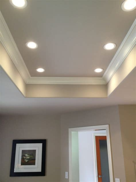 "4"" LED recessed lighting installed in a kitchen that was"