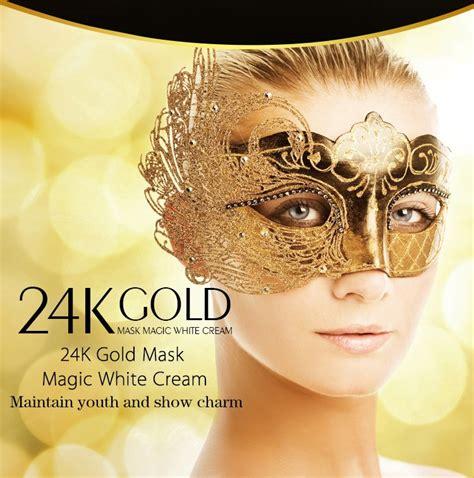 Shisedo Gold Mask Whitening 24k Termurah 24k gold anti wrinkle sleep mask care acne treatment whitening skin care