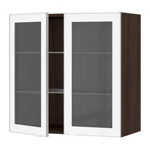 Wall Kitchen Cabinets With Glass Doors Glass Kitchen Cabinet Doors Ikea Nazarm
