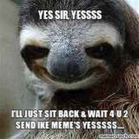 Creepy Sloth Meme - creepy sloth