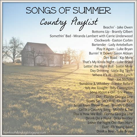 s day country songs country song quotes about summer quotesgram