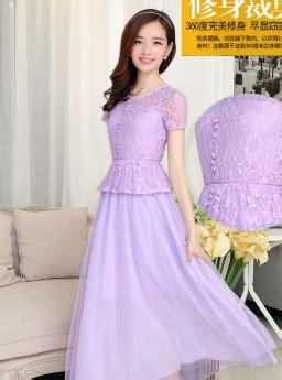 Dress Ucansee Baju Wanita Dres Gaun Pesta Perempuan Dewasa Pink dress pesta cantik jual model terbaru murah