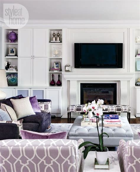 Grey And Mauve Living Room by 25 Best Ideas About Purple Living Rooms On