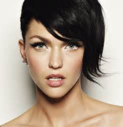ruby hairstyles lady nape ruby rose short hair