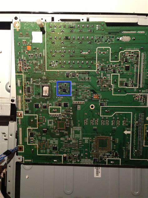 Mainboard Mesin Tv Lcd Samsung La32r71bx samsung la40r81bd 40in lcd tv board eeprom