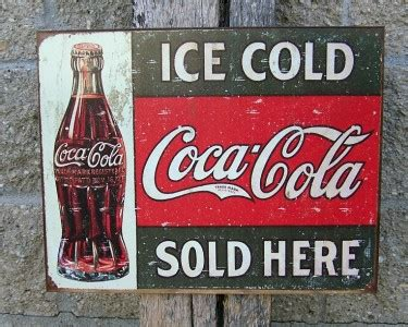 vintage magnet home decor coca cola vintage 3 pk coke vintage antique style coca cola sign retro ad ice cold