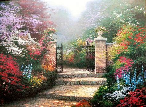 famous gardens famous garden paintings for sale famous garden paintings