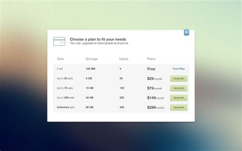 price plan design dribbble pricing plans big png by ionut zamfir