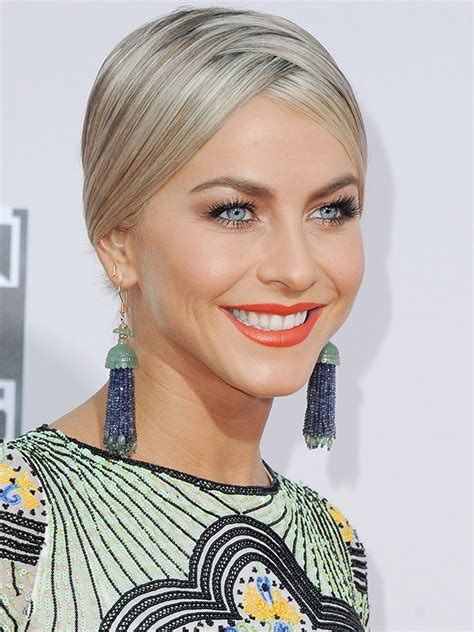 what kind of hairstyle does julienne huff have in safe haven julianne hough people com