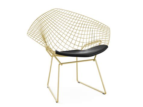bertoia armchair knoll bertoia diamond gold armchair by harry bertoia