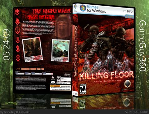 killing floor pc box art cover by gameguy360