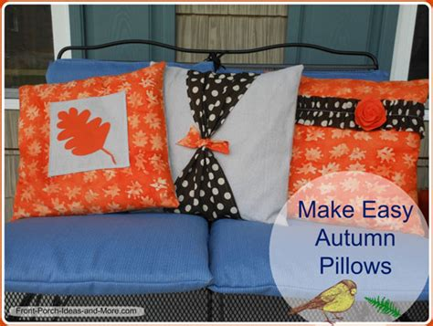how to make slipcovers for pillows pillow cover pattern for autumn how to make a pillow cover