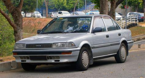 1991 toyota corolla file 1991 toyota corolla se sedan in cyberjaya malaysia