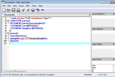 tutorial xml copy editor free install xmlcopyeditor to validate your xml against