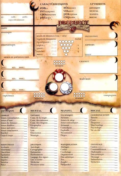 voil 3rd edition a aide de jeux feuille de personnage autres jdrvirtuel