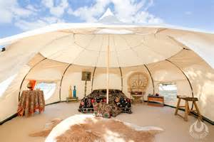 tent houses luxury lotus tent yurt like shelter packs into duffle bag