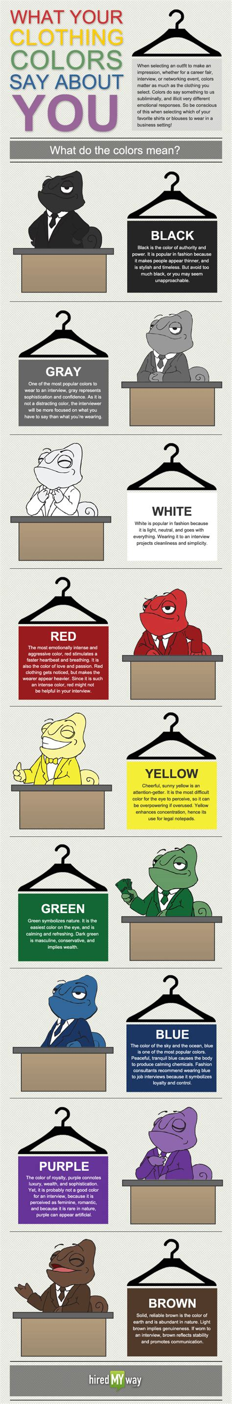 what colors mean what your clothing color says about you dressed to a t