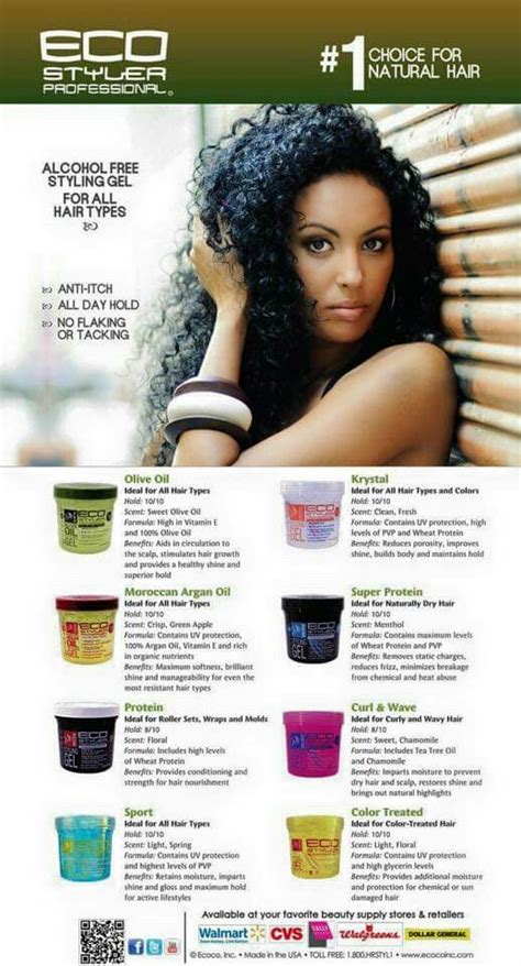 hairstyles with eco styler gel eco styler gel hair care pinterest in my life my