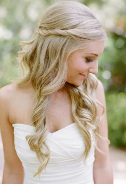 Wedding Hairstyles With Soft Curls by 20 Best Wedding Hairstyles For Hair