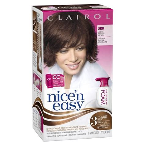 Foam Hair Color Clairol Nice N Easy Your Source For | clairol nice n easy color blend foam permanent hair color