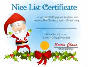 Santa Claus Certificate Template by 5 Ways To Keep Your Believing In Santa Hubpages