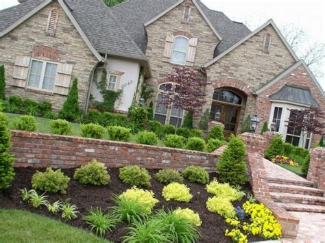 landscaping images for front yard bloombety landscaping ideas for charming front yard