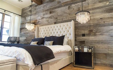 create  stunning accent wall   bedroom