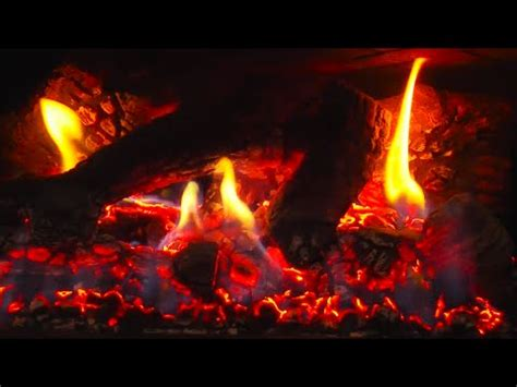 fireplace glowing embers 10 hours fireplace hd with crackling flames