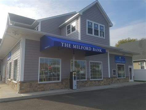 new awning a new milford bank gets custom shed awnings installed
