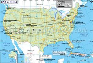 map of us mexico and cuba us and cuba map cuba and usa map