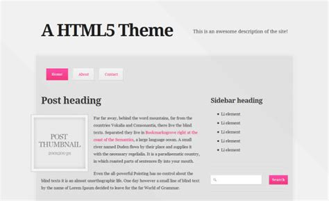 blog layout html css beginner s guide to building html5 css3 webpages hongkiat