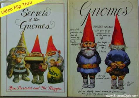 of gnomes books obsessions gnomes book flip through