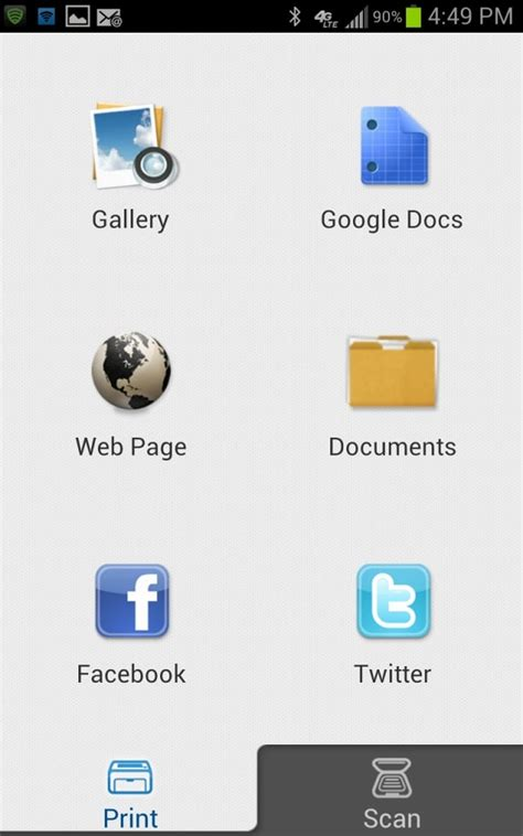 samsung printer apps for android samsung mobile print for android