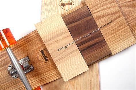 Handmade Longboards - personalised handmade oak 70 s longboard by nudie boards