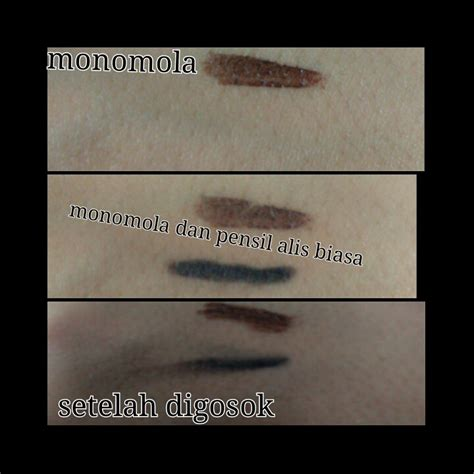 Pensil Alis Biasa review monomola eyebrow brown kichan pages