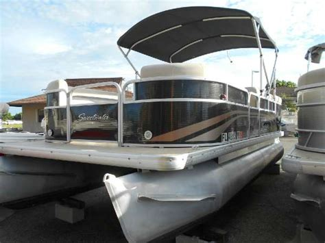 pontoon boat sw buggy used pontoon boats for sale in florida united states 7