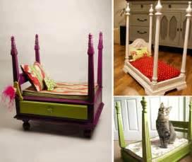 Diy Pet Canopy Bed 20 Fantastic Pet Bed Ideas