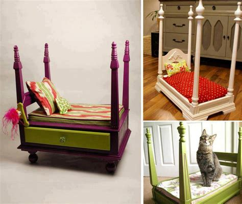 diy bed table 20 fantastic pet bed ideas