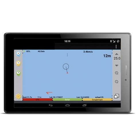 boat gps android baitboat gps autopilot met 7 android tablet basic