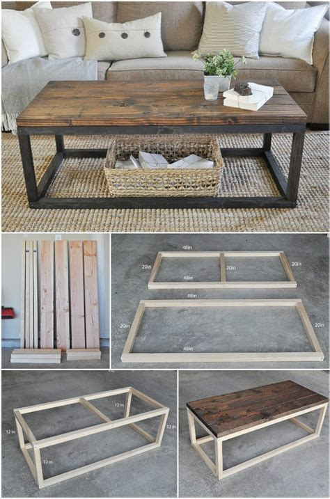 diy project table 20 easy free plans to build a diy coffee table diy coffee table coffee and easy